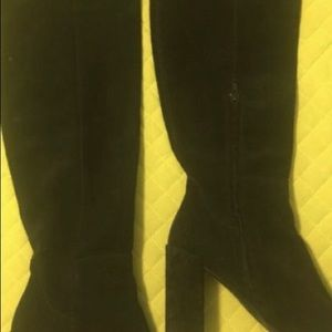 Zara boots ( suede )